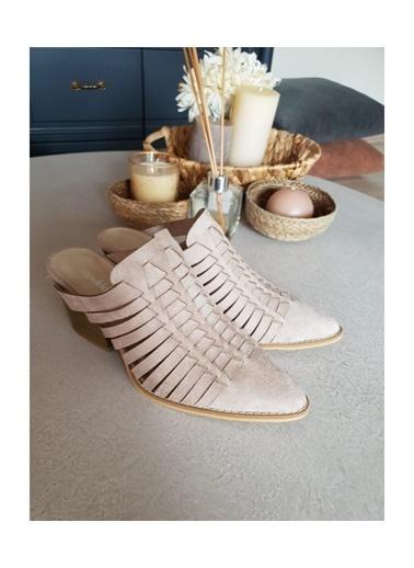 Topukla 08 Sabo  Nubuk Ayakkabı Taş